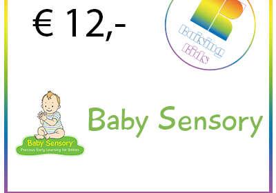 Ticket 1 les Baby Sensory